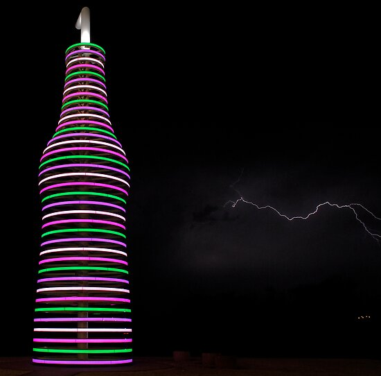 Pastel Lightning #2 by Dennis Jones - CameraView