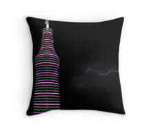 Pastel Lightning #2 Throw Pillow