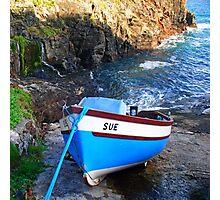 Sue at Church Cove Photographic Print