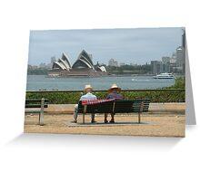 The Typical Aussie Arvo Greeting Card