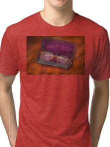 Optometry - Has anyone seen my glasses  Tri-blend T-Shirt