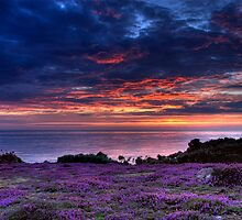 St Ouen Sunset by Mark Bowden