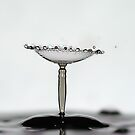 martini glass splash by Don Cox