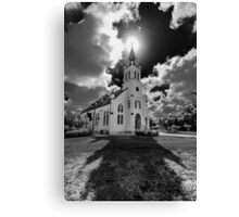 Painted Churches of Schulenburg, Texas Canvas Print