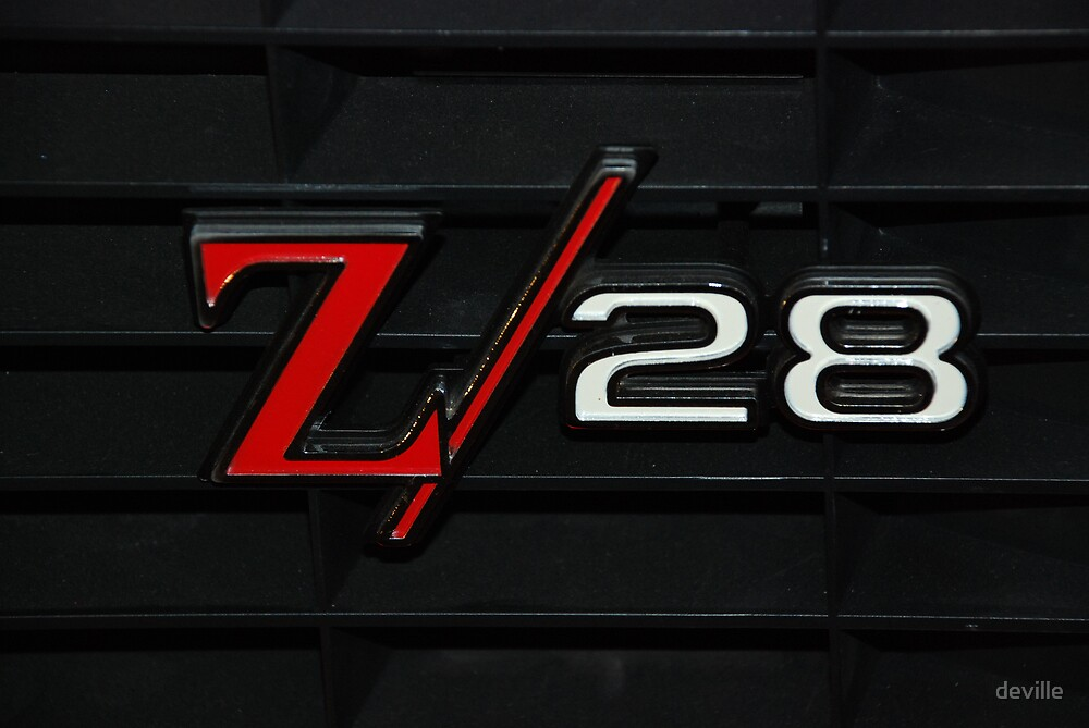 69 Z28 none as the ZAPPER by deville