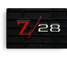 69 Z28 none as the ZAPPER Canvas Print