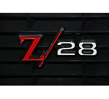 69 Z28 none as the ZAPPER Photographic Print