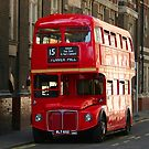 London Red Bus by Craig Wilson