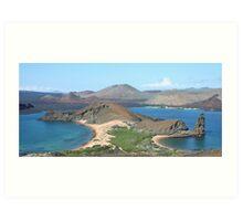 Bartolome Island (Galapagos, Ecuador) Art Print