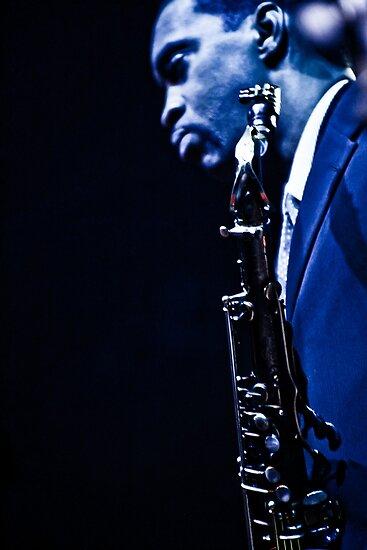 Jazz Messengers 02 by Jean M. Laffitau