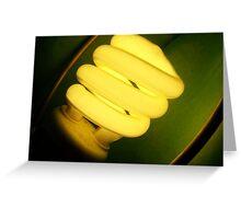 Green Light ~ Planet Awareness Greeting Card