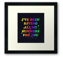 Like Froot Framed Print