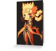Naruto Uzumaki Greeting Card