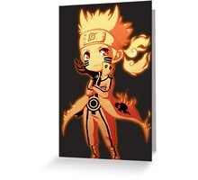 Naruto Uzumaki Greeting Card
