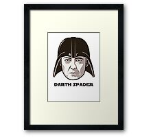 "James Spader is ""DARTH SPADER"" Framed Print"