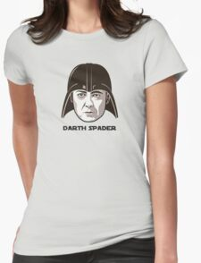 """James Spader is """"DARTH SPADER"""" Womens Fitted T-Shirt"""