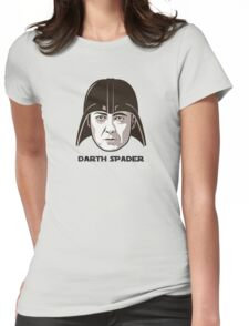 "James Spader is ""DARTH SPADER"" Womens Fitted T-Shirt"