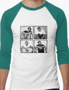 Black Hippi Men's Baseball ¾ T-Shirt