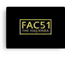 FAC51 The Hacienda Canvas Print
