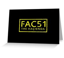FAC51 The Hacienda Greeting Card