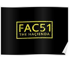 FAC51 The Hacienda Poster