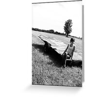 Drifter II Greeting Card