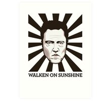 Walken on Sunshine - Christopher Walken Art Print
