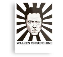 Walken on Sunshine - Christopher Walken Metal Print