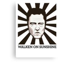 Walken on Sunshine - Christopher Walken Canvas Print