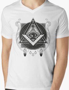 Illuminati Mens V-Neck T-Shirt