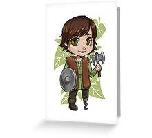 Chibi Hiccup  Greeting Card