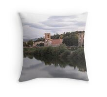 Florence in the Sky Throw Pillow