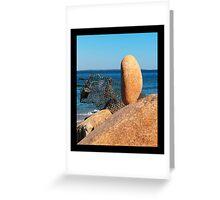 balanced rock Greeting Card