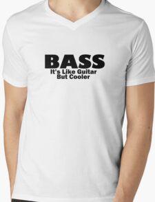 Bass for ever Mens V-Neck T-Shirt