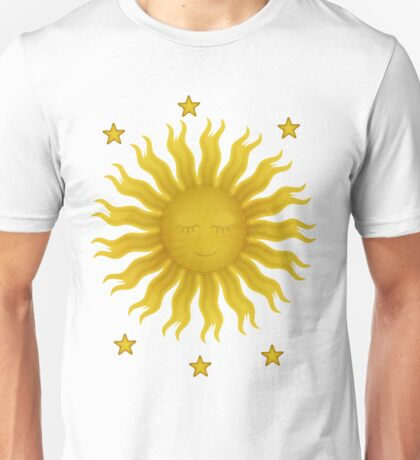 Sun Resting at Blue Twilight Unisex T-Shirt