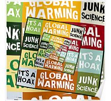 Global Warming Fraud Poster