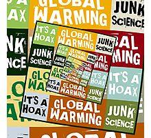 Global Warming Fraud Photographic Print