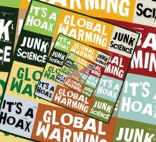 Global Warming Fraud Sticker