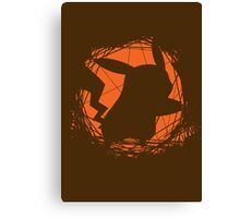 Emerging from the Darkness Canvas Print