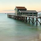 Portsea Pier, Mornington Peninsula, Victoria, Australia by Michael Boniwell