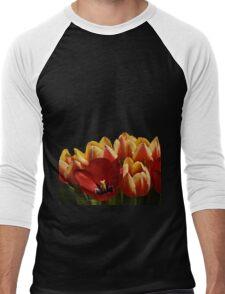 The Tulip Bunch Men's Baseball ¾ T-Shirt