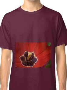Inside the Red Tulip  Classic T-Shirt