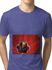 Inside the Red Tulip  Tri-blend T-Shirt
