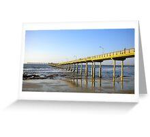 The Pier at Ocean Beach Greeting Card