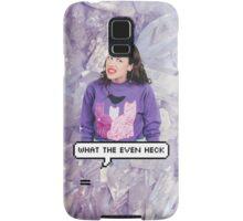 Miranda Sings - What The Even Heck Samsung Galaxy Case/Skin