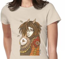 Owl Keeper Womens Fitted T-Shirt