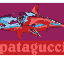 Patagucci Shark Sticker