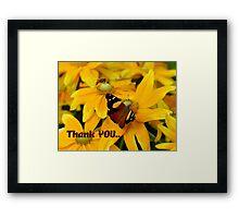 Thank YOU.. - NZ Framed Print
