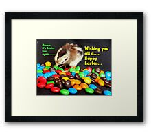 Mmmmm.. It's Easter Time Again.. - NZ Framed Print