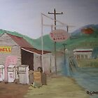 The Old Country Servo by Debra Lohrere